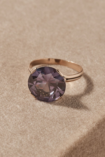 View larger image of Vintage Round Cut Cocktail Ring
