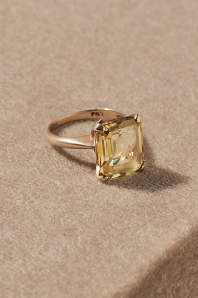 View larger image of Vintage Emerald Cut Cocktail Ring