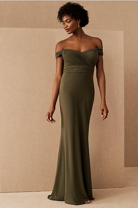 Racine Off-the-Shoulder Jersey Dress