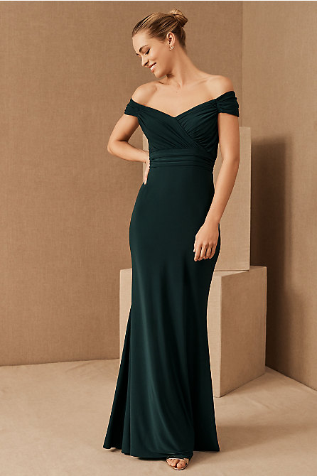 Racine Off-the-Shoulder Jersey Dress