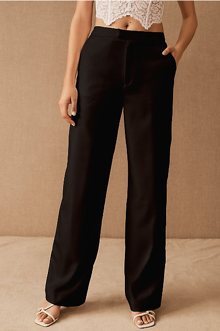 The Tailory New York x BHLDN Joanie Suit Pant