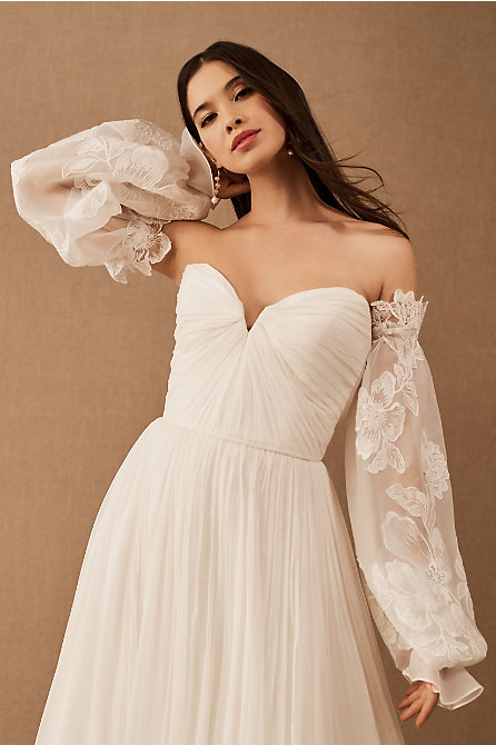BHLDN Arden Sleeves