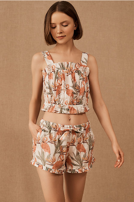 Lazy Poet Christie Flamingo Pajama Set