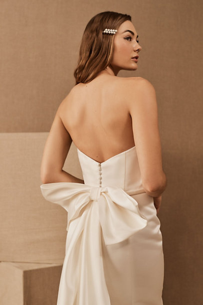 View larger image of Amsale Merion Bow Dress
