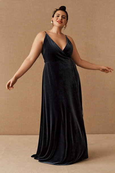 View larger image of Jenny Yoo Andi Velvet Wrap Dress