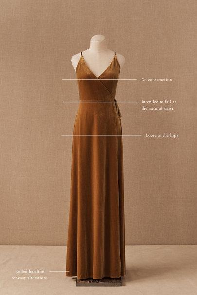 View larger image of Jenny Yoo Andi Velvet Wrap Dress