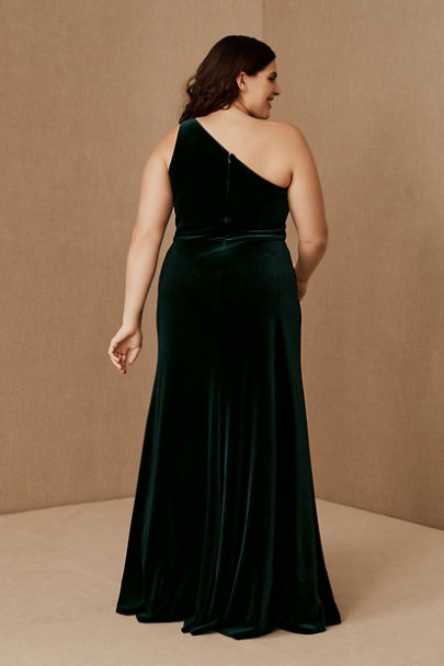 View larger image of Jenny Yoo Cybill Velvet Maxi Dress