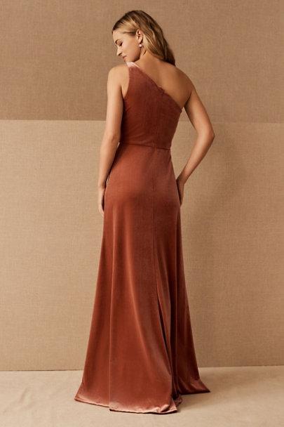 View larger image of Jenny Yoo Cybill Velvet Maxi Dress