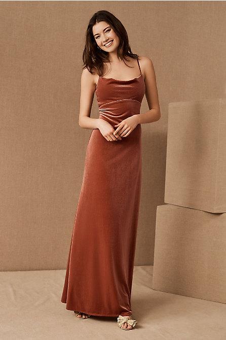 Jenny Yoo Sammi Velvet Dress