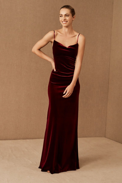 View larger image of Jenny Yoo Sammi Velvet Dress
