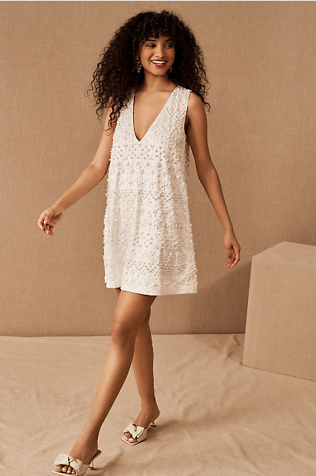 Alexis Beaded Mini Dress