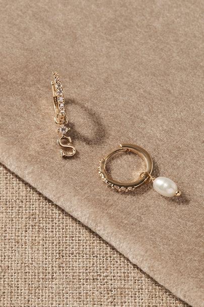 View larger image of Thora Monogram Earrings
