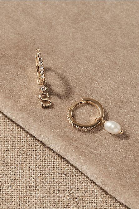 Thora Monogram Earrings