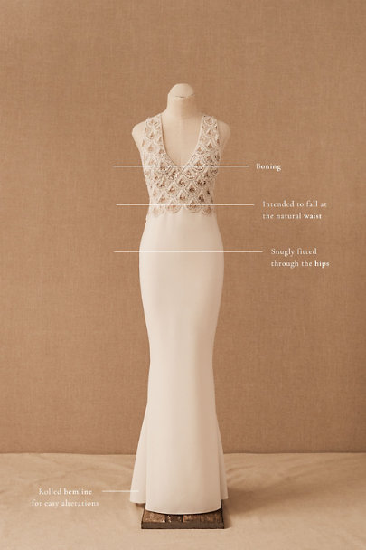 View larger image of Sachin & Babi Sia Gown