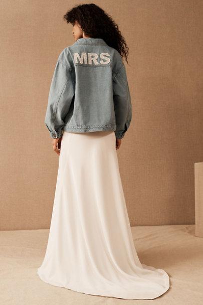 View larger image of Untamed Petals Mrs Denim Jacket