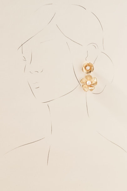 View larger image of The Pink Reef Rosabelle Earrings
