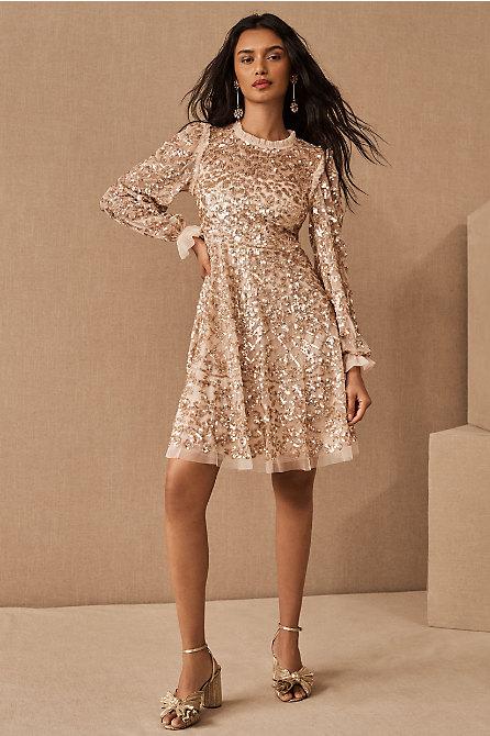 Needle & Thread Mirabelle Sequin Mini Dress