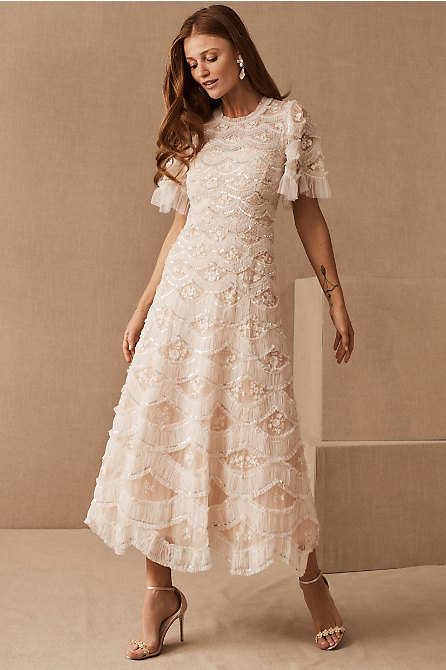 Needle & Thread Lunette Blossom Ankle Dress