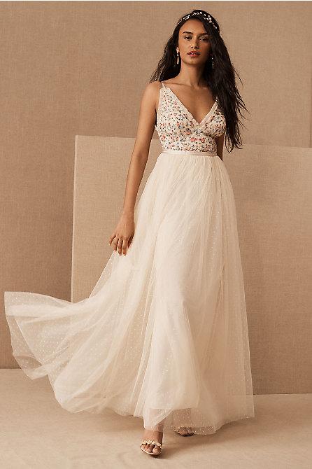 Needle & Thread Lovell Ditsy Bodice Cami Dress
