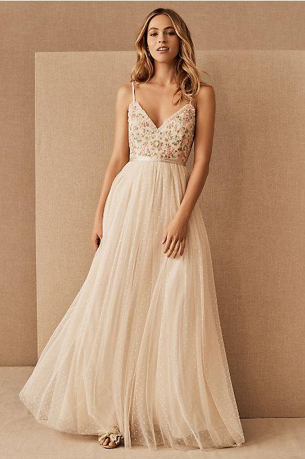Needle & Thread Emma Ditsy Cami Maxi Dress