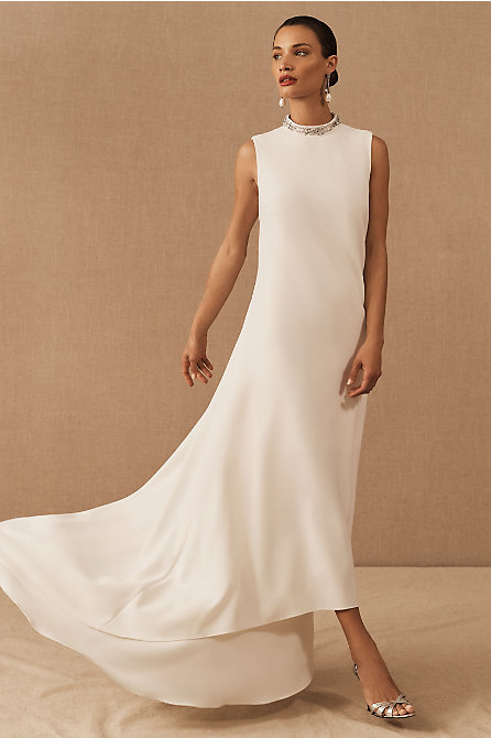Theia Emery High-Low Dress
