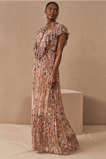 BHLDN Jessica Floral Maxi Dress