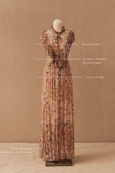 View larger image of BHLDN Jessica Floral Maxi Dress