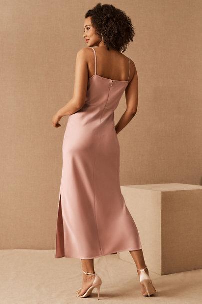 View larger image of Cali Satin Charmeuse Midi Dress