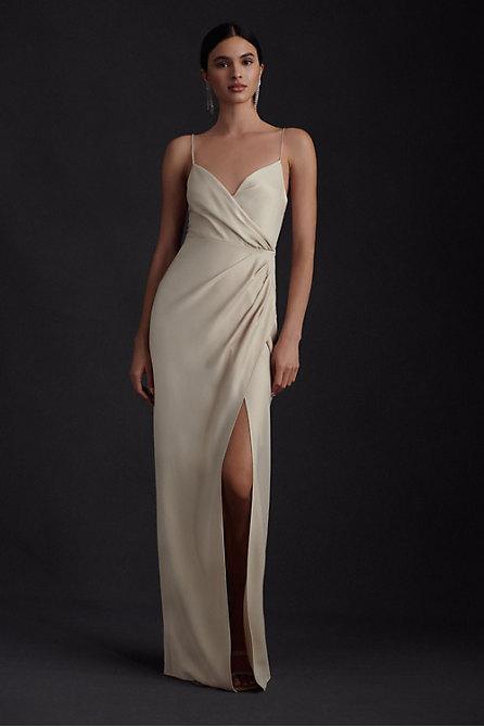 Freya Satin Charmeuse Dress