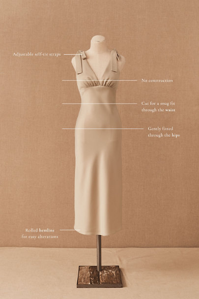 View larger image of Hudson Satin Charmeuse Dress