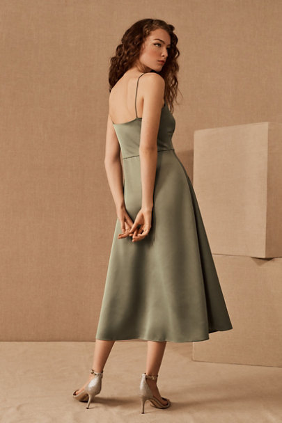 View larger image of Maren Satin Charmeuse Dress