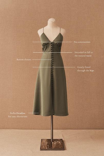 View larger image of Maren Satin Charmeuse Dress