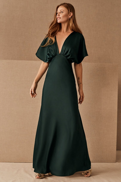 View larger image of Leila Satin Charmeuse Maxi Dress