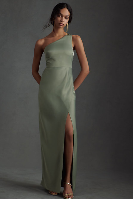 Dylan Satin Charmeuse Maxi Dress