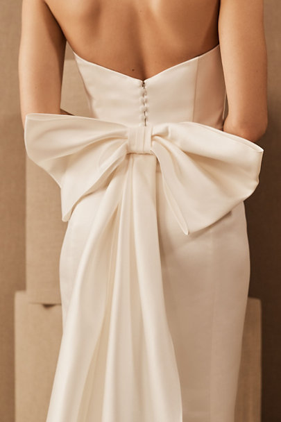 View larger image of Amsale Willow Bow Dress