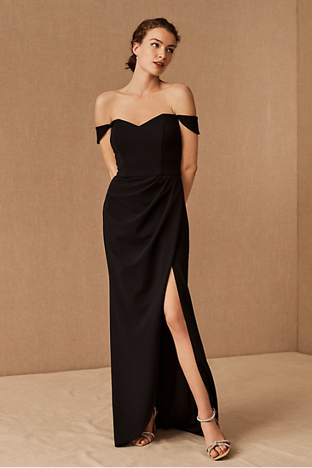 Rossi Crepe Maxi Dress