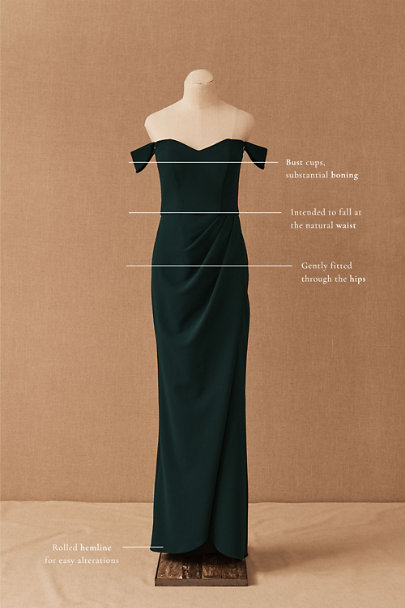 View larger image of Rossi Crepe Maxi Dress