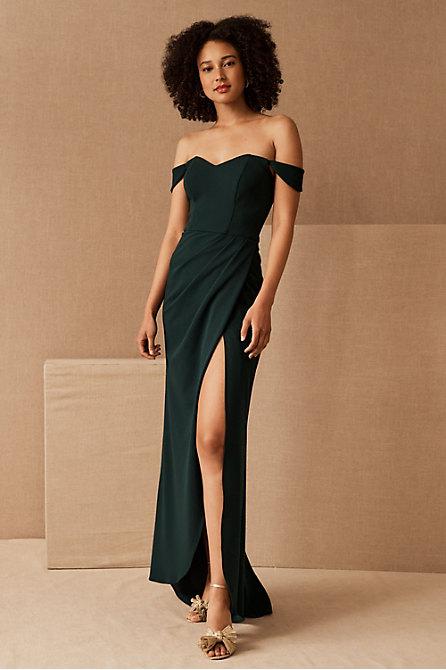 Dawson Crepe Maxi Dress