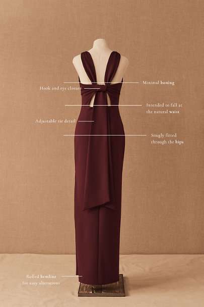View larger image of London Crepe Dress
