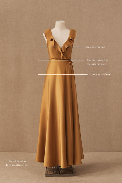 View larger image of Tansy Satin Charmeuse Maxi Dress