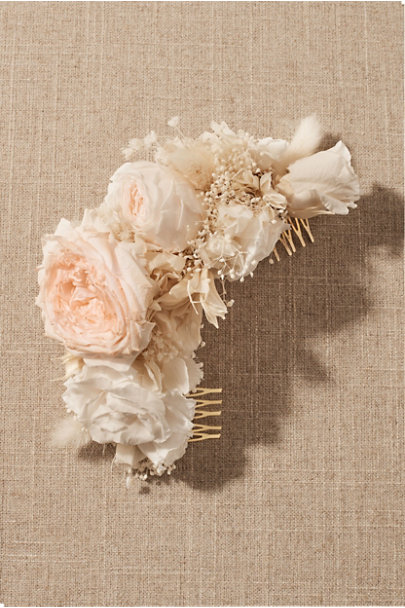 View larger image of Sirena Preserved Flower Hair Comb