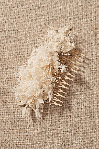 View larger image of Delphine Preserved Flower Hair Comb