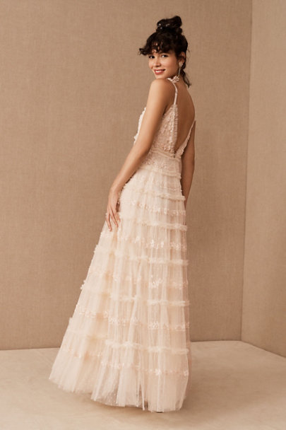 View larger image of Needle & Thread Eve Sequin Cami Gown