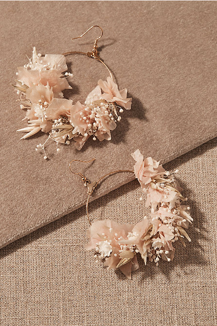 Nami Preserved Flower Earrings