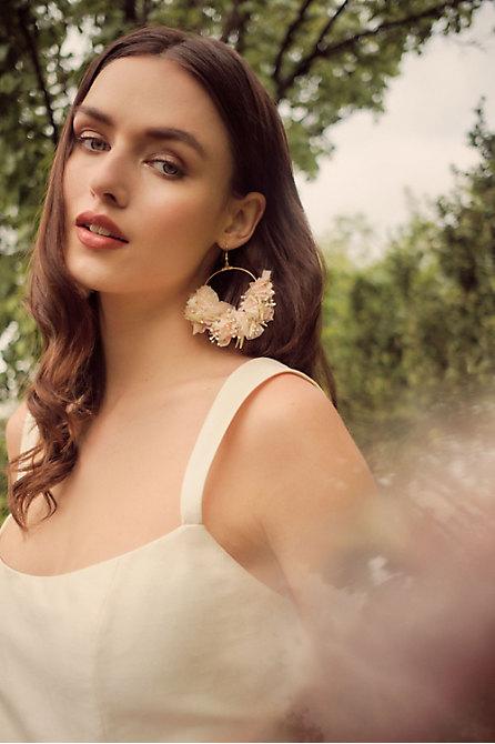 Nami Preserved Flower Earrings