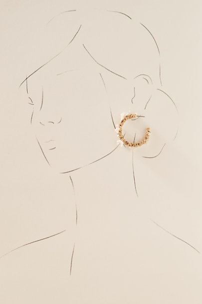 View larger image of Poema Preserved Flower Earrings