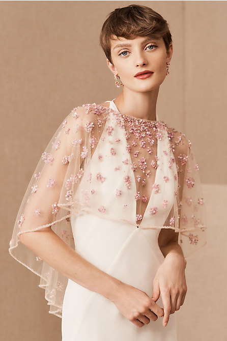 Terani Couture Elodie Cape