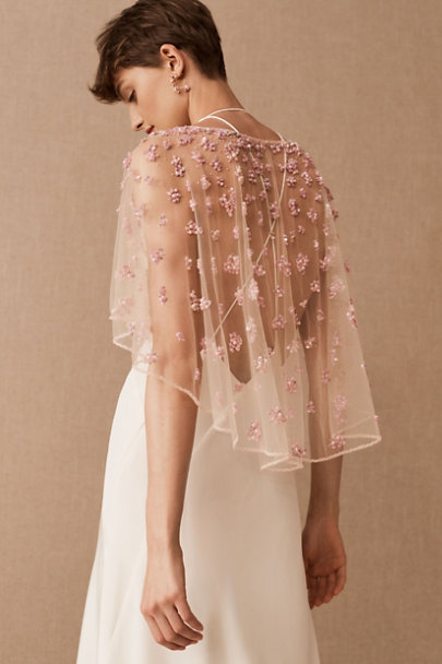 View larger image of Terani Couture Elodie Cape