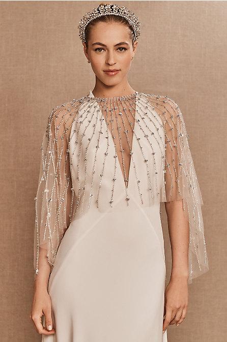 Terani Couture Amber Cape