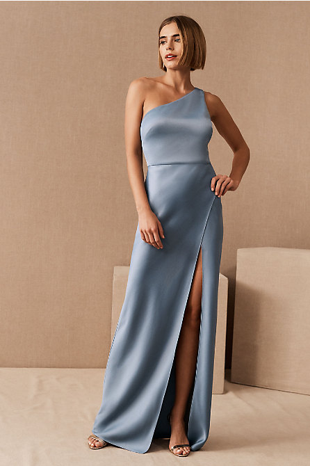 Dylan Satin Charmeuse Maxi Dress